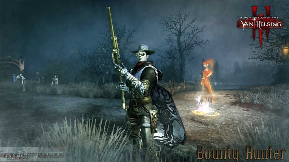The Incredible Adventures of Van Helsing III Features