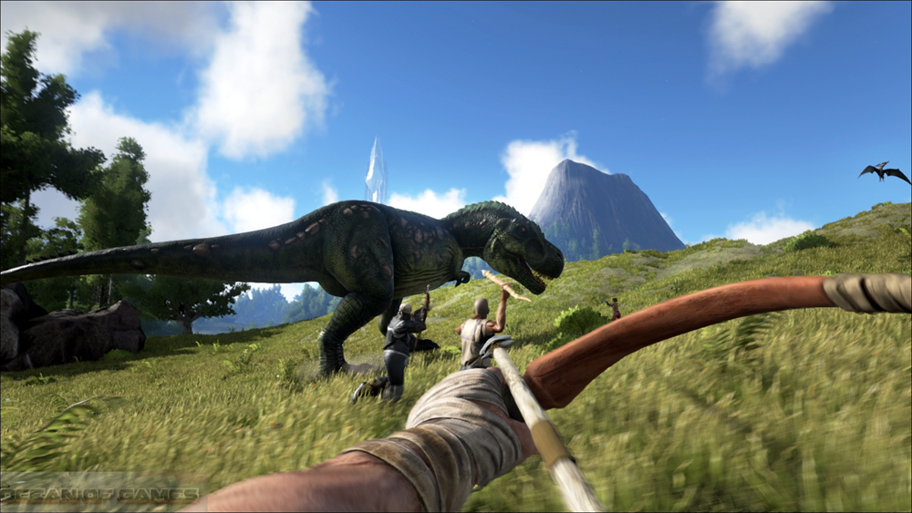 ark survival evolved free download no survey
