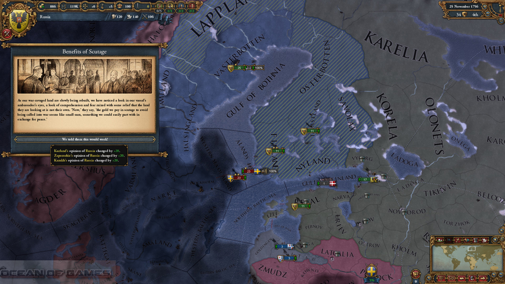 Europa Universalis IV Common Sense Setup Download For Free