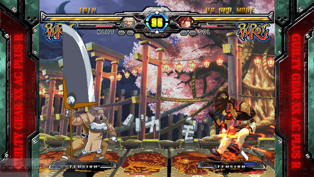 Guilty Gear XX Accent Core Plus R 2015 Features