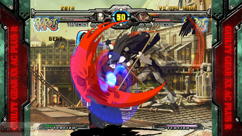 Guilty Gear XX Accent Core Plus R 2015 Setup Download For Free