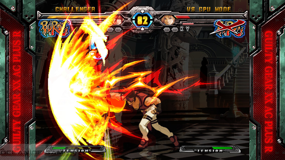 Guilty Gear XX Accent Core Plus R 2015 Setup Free Download