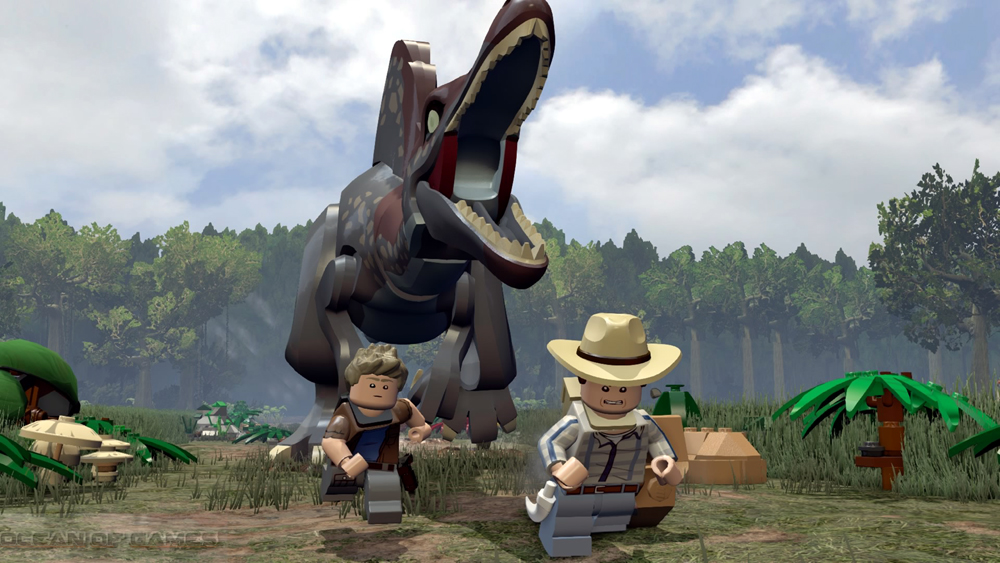 LEGO Jurassic World Features