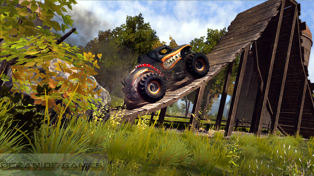 Monster Jam Battlegrounds Features