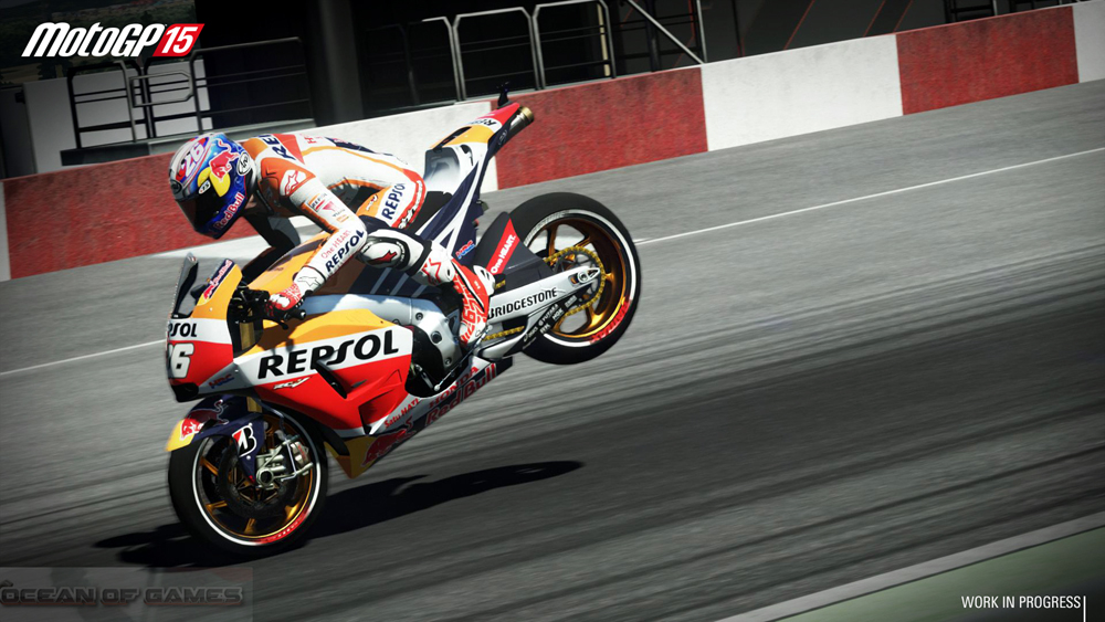MotoGP 15 Features