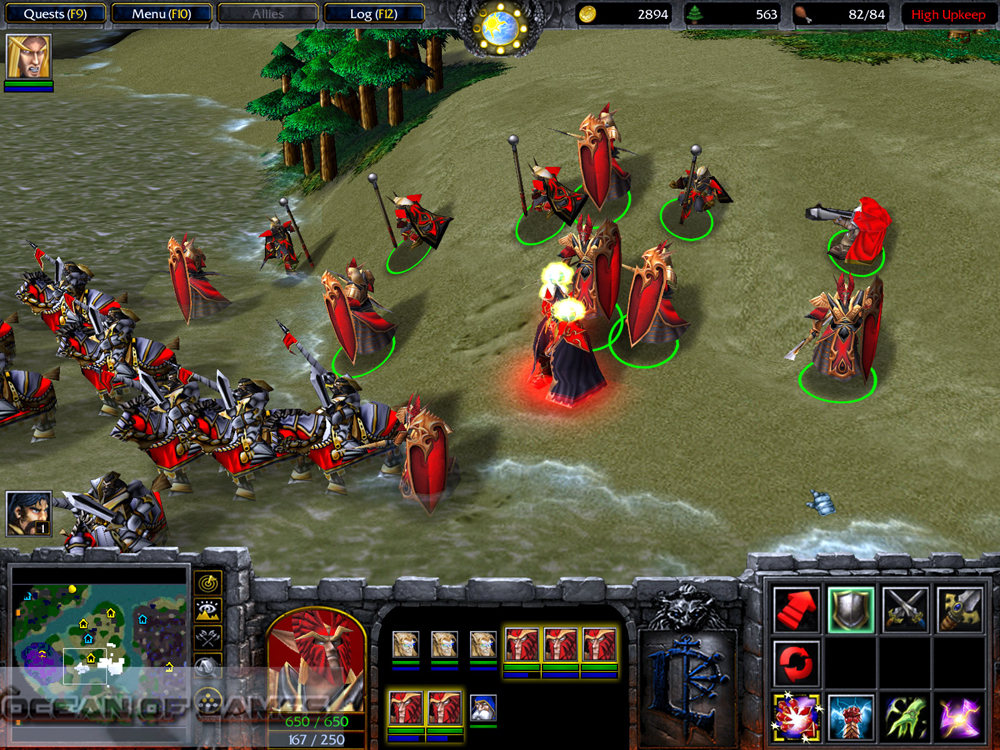 Warcraft III The Frozen Throne Features