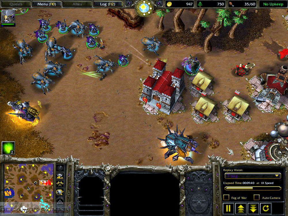 warcraft 3 and frozen throne free download