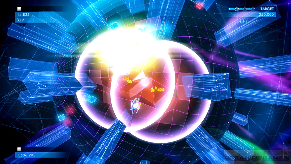 Geometry Wars 3 Dimensions Features