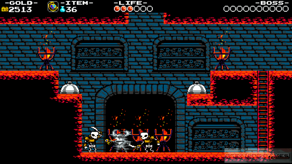 Shovel Knight PC Game Features