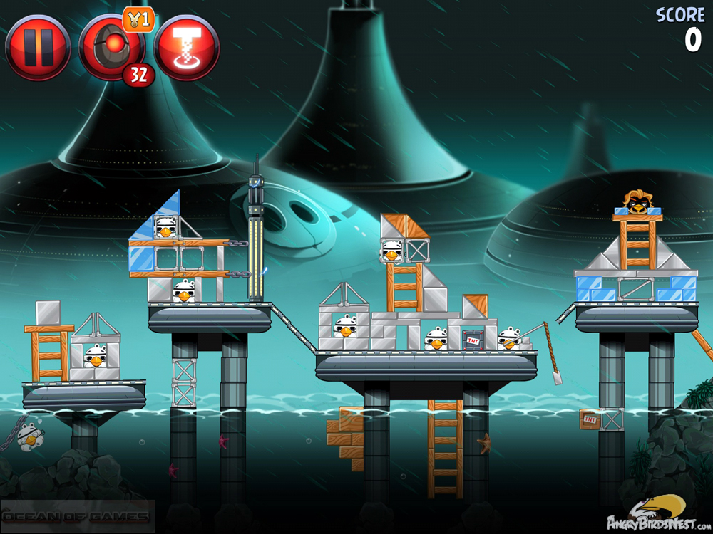 Angry Birds Star Wars II Features