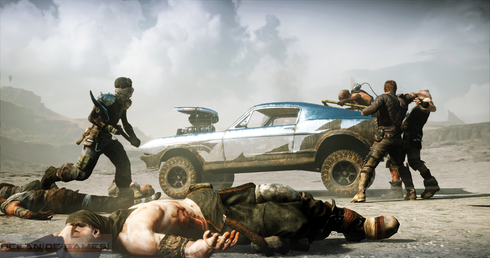 Mad Max PC Game Setup Free Download