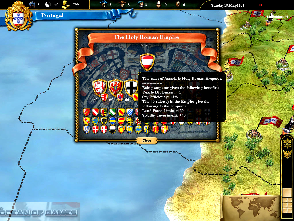 Europa Universalis III Download For Free