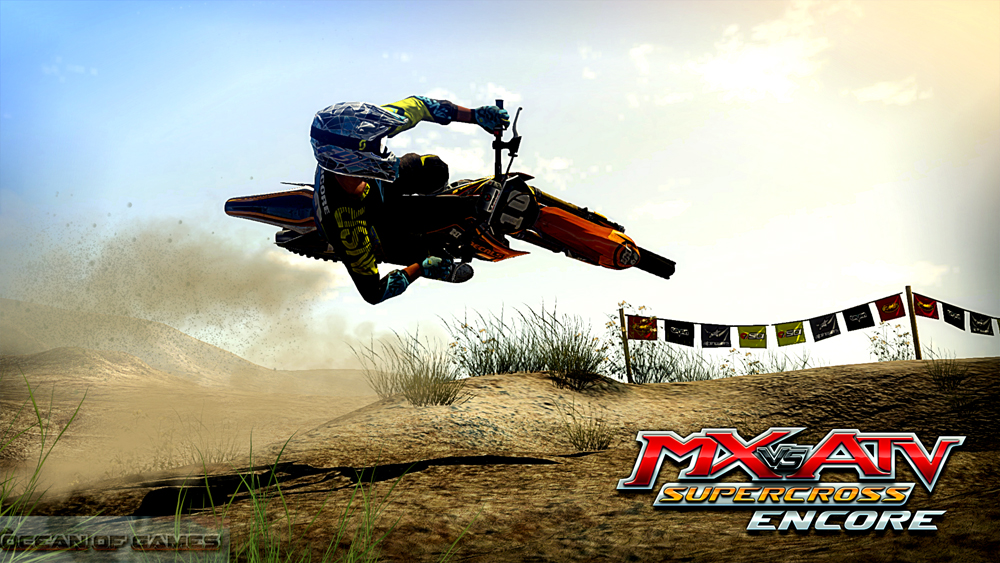MX vs ATV Supercross Encore Features