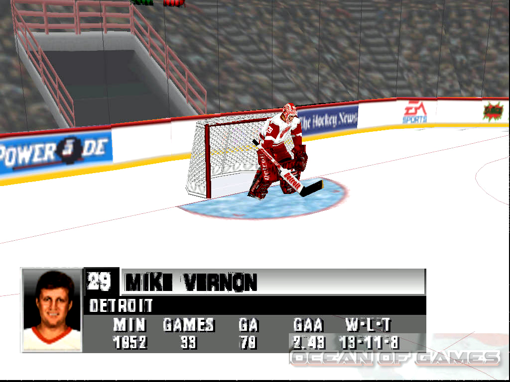 NHL 98 Features