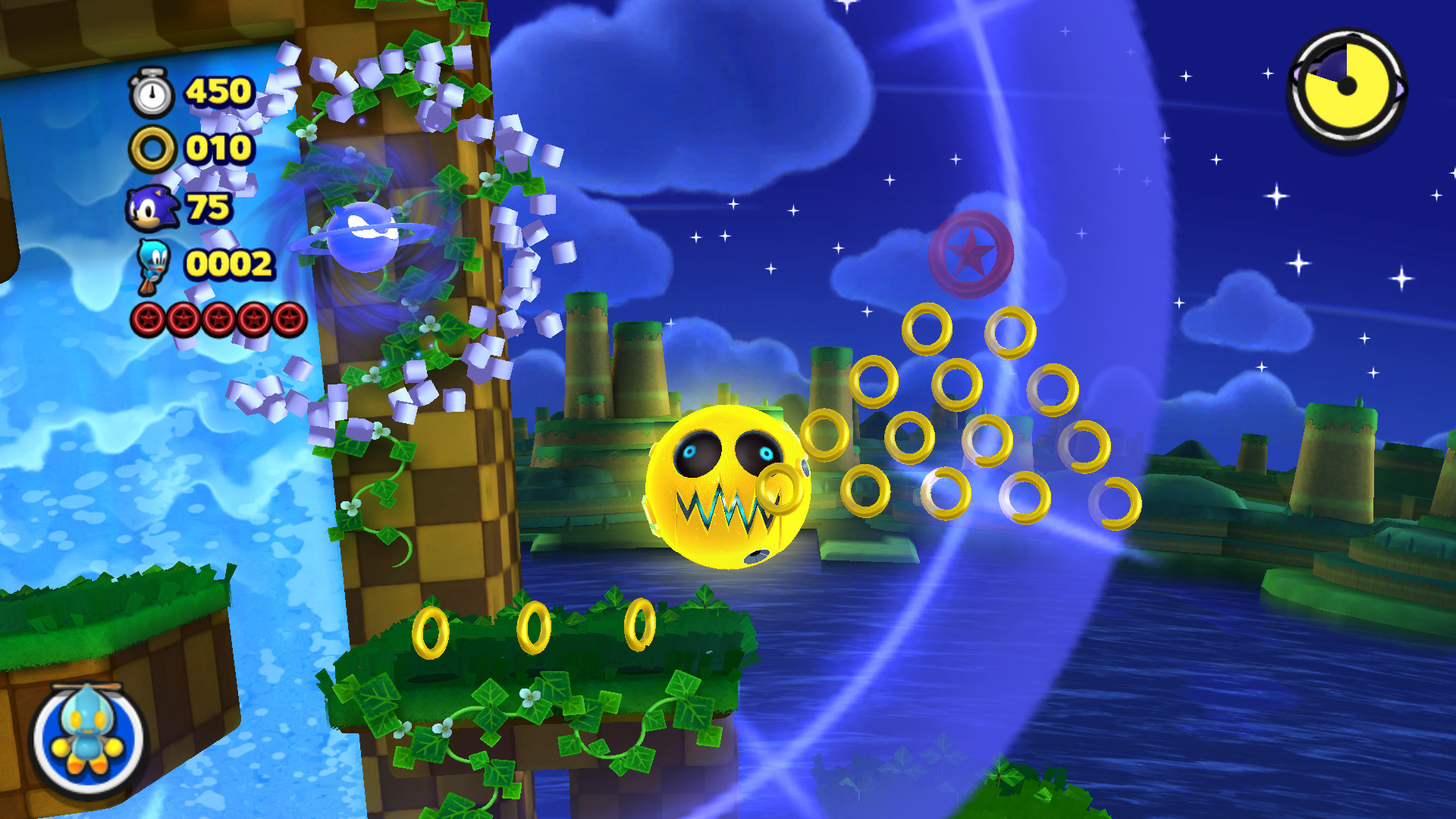 Sonic Lost World Features