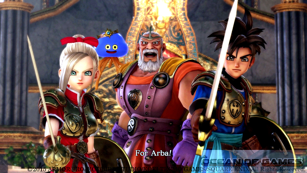 DRAGON QUEST HEROES Setup Free Download