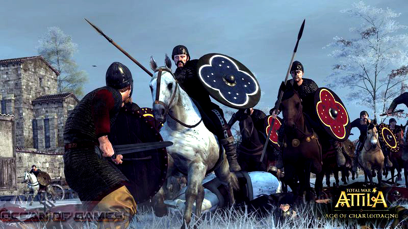 Total War ATTILA Age of Charlemagne Setup Free Download