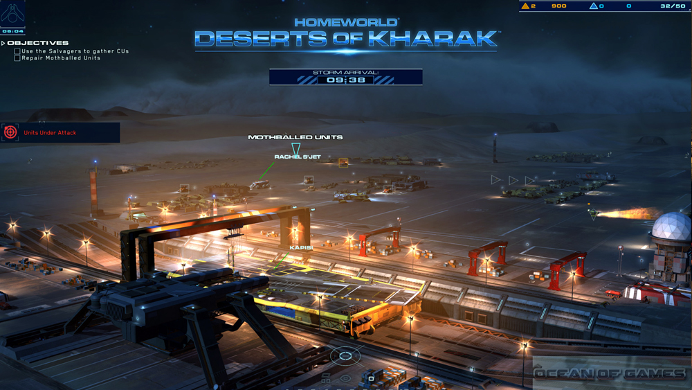 Homeworld Deserts of Kharak Features