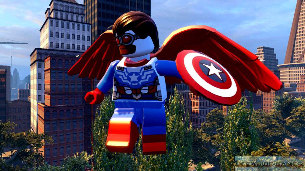 LEGO MARVEL Avengers Features
