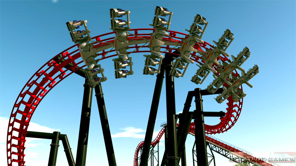 No Limits 2 Roller Coaster Simulation Features
