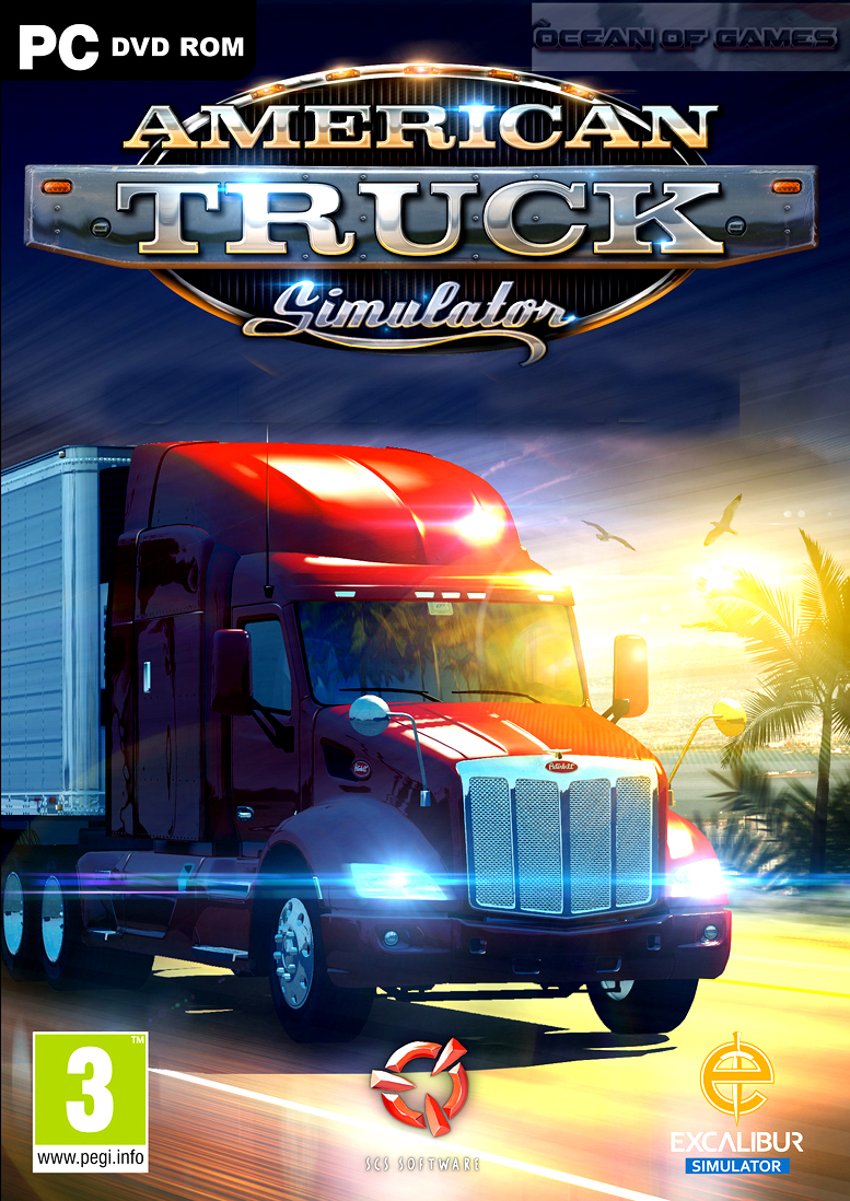 american truck simulator 2016 free download. Black Bedroom Furniture Sets. Home Design Ideas