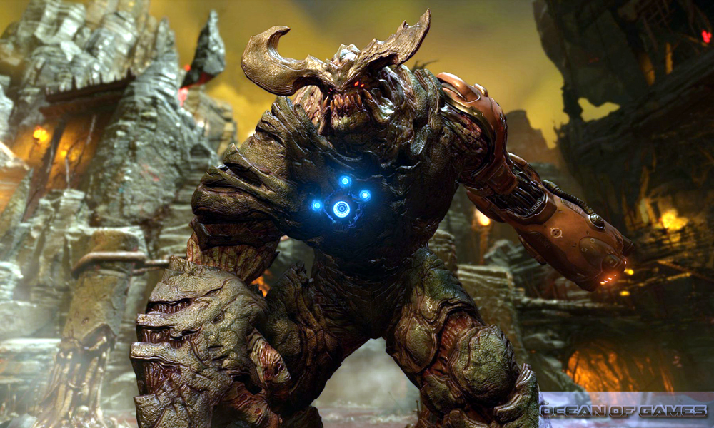 DOOM 2016 Features