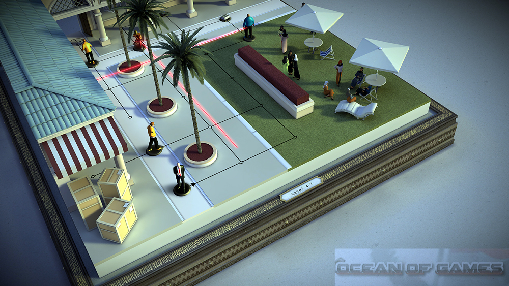 Hitman GO Features