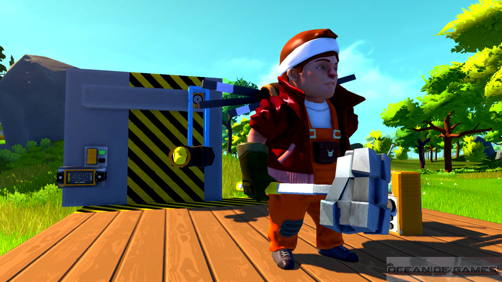 Scrap Mechanic Features