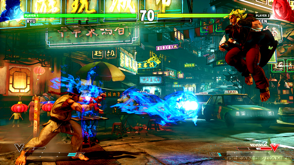 Street Fighter V Setup Download Free