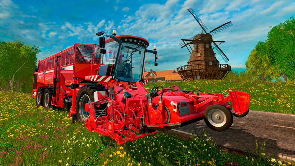 Farming Simulator 15 Holmer Download For Free