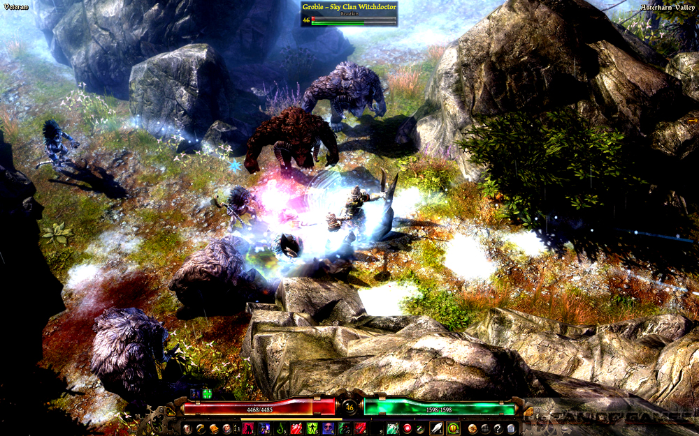 Grim Dawn Features