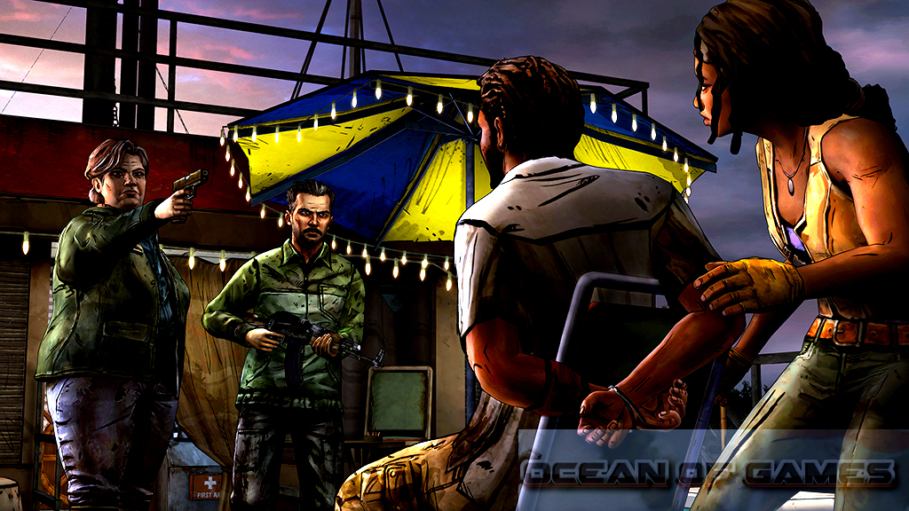 play the walking dead game free
