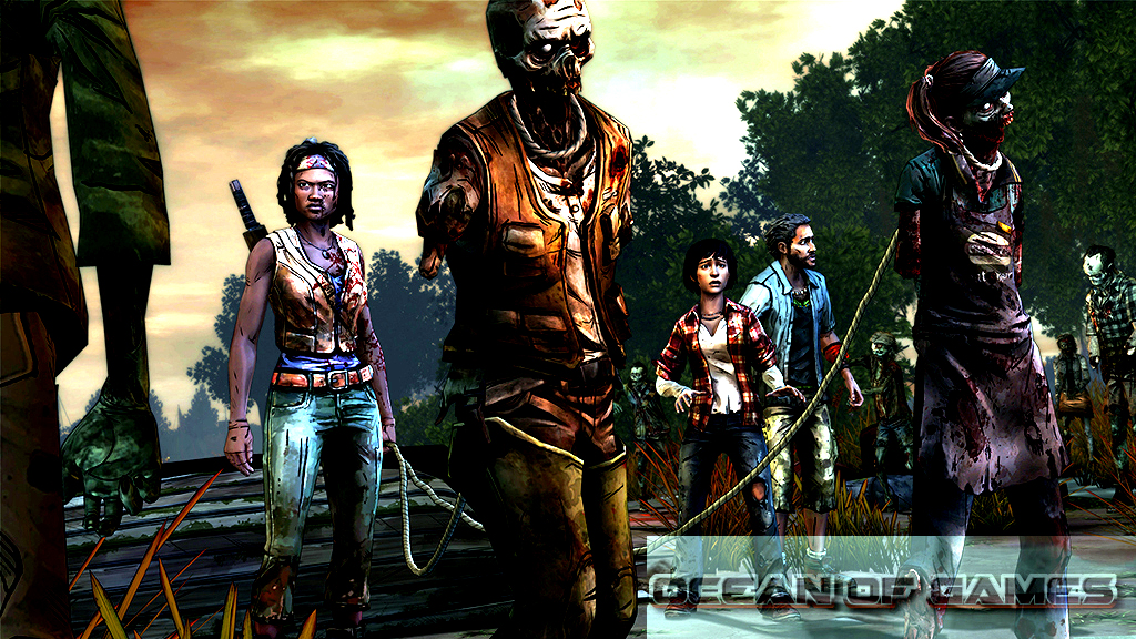 The Walking Dead Michonne Episode 2 Features
