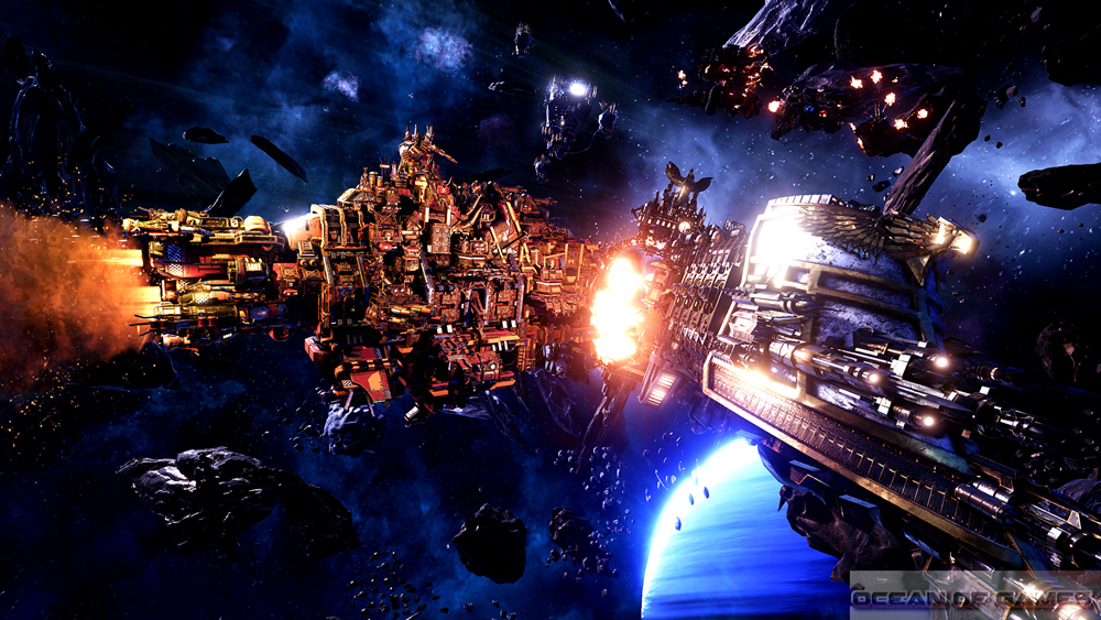 Battlefleet Gothic Armada Features