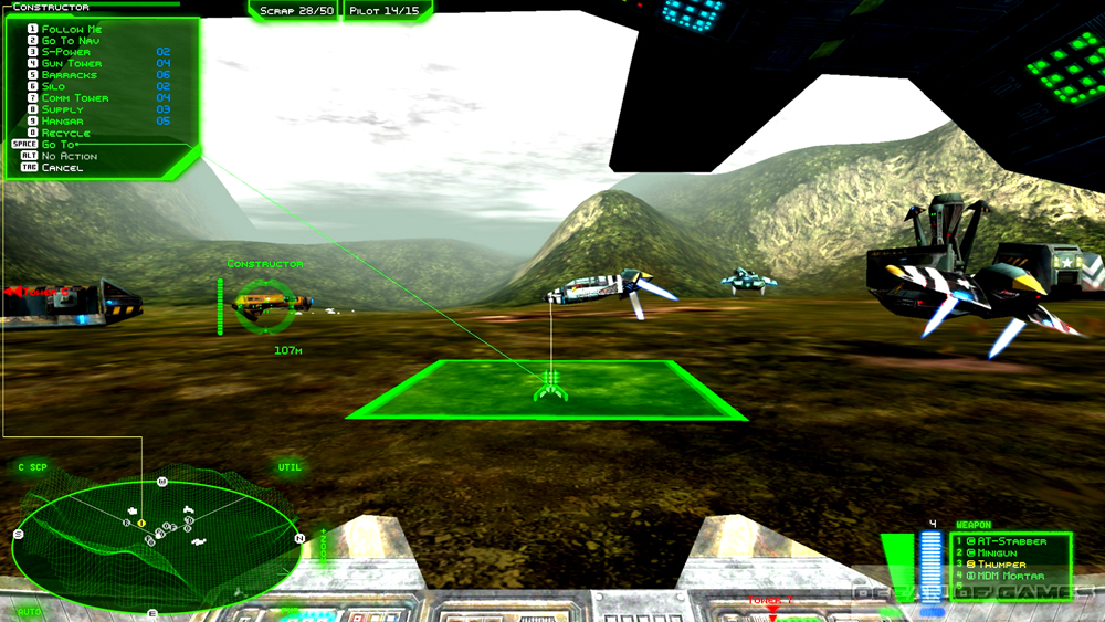 Battlezone 98 Redux Features