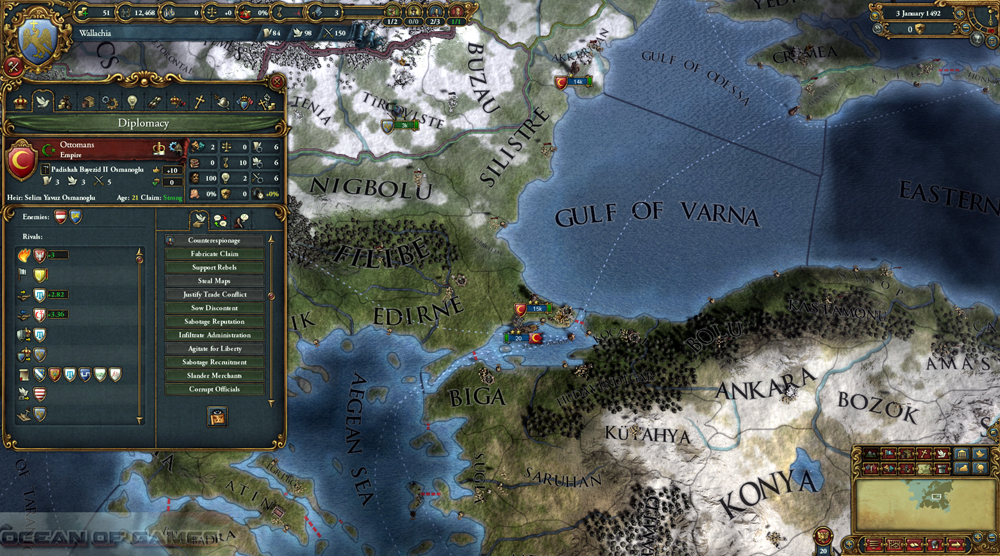 Europa Universalis IV Mare Nostrum Features