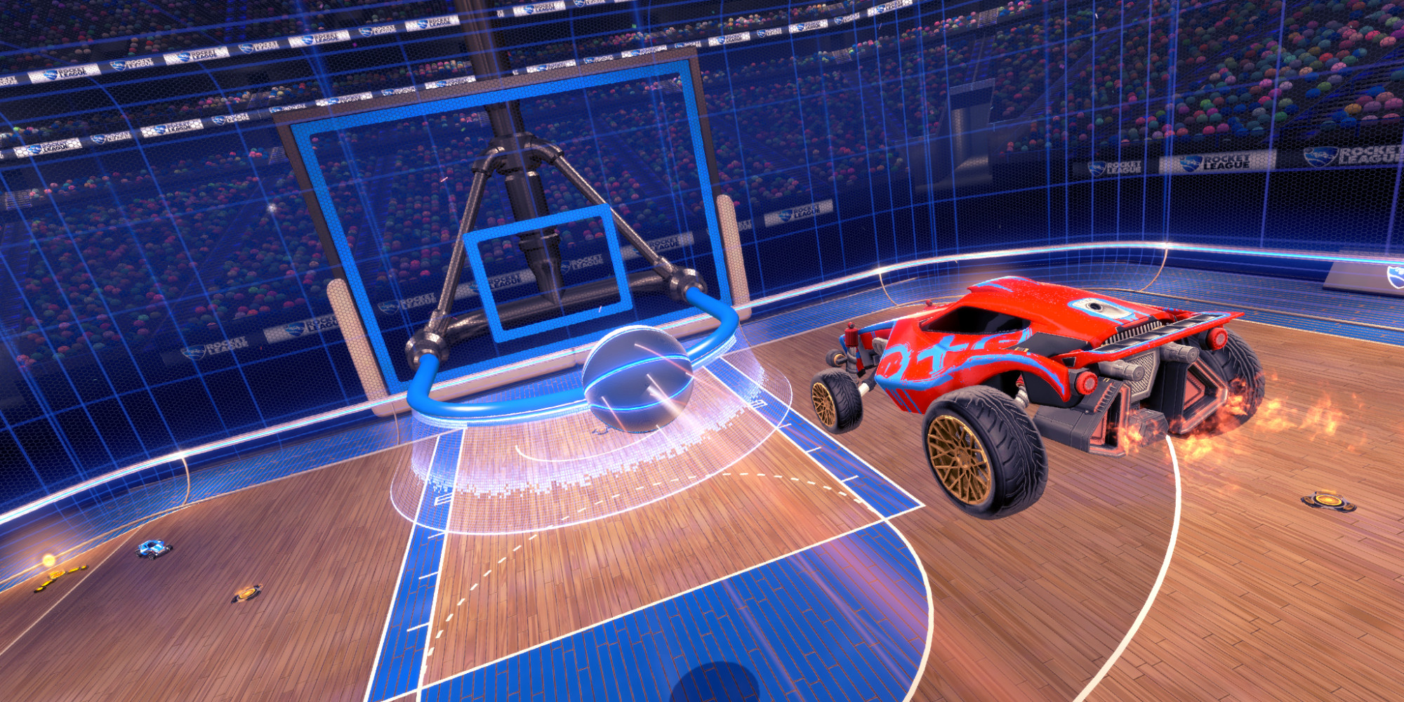 Rocket League NBA Flag Pack Setup Free Download