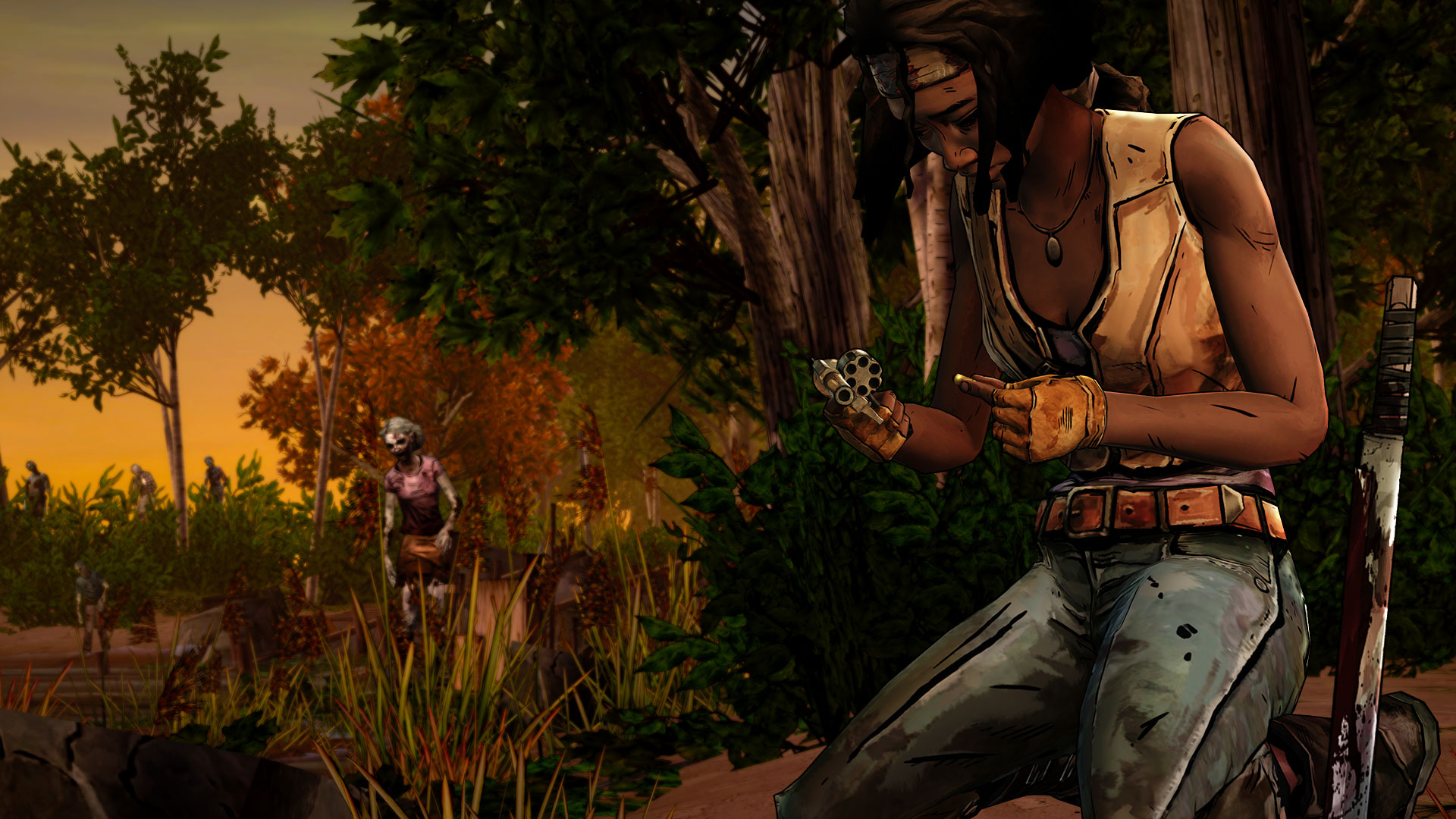 The Walking Dead Michonne Episode 3 Features