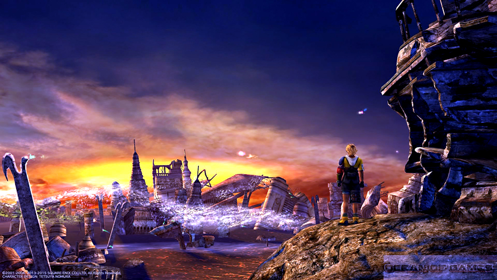 FINAL FANTASY X/X-2 HD Remaster Features