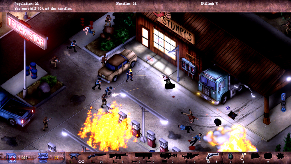 POSTAL Redux Features