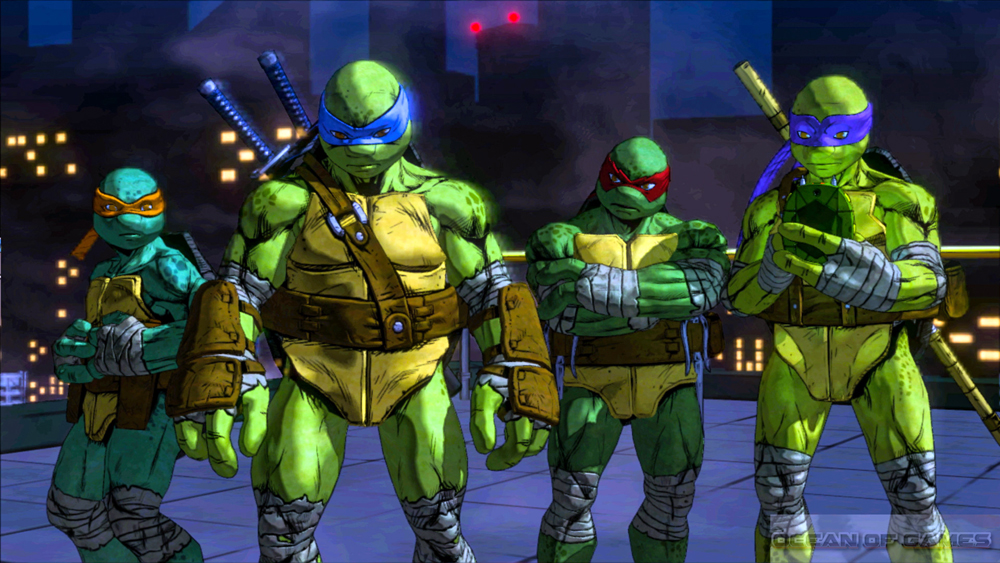 Teenage Mutant Ninja Turtles Mutants in Manhattan Download For Free