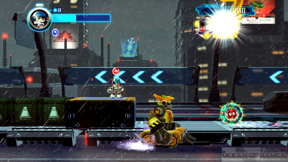 Mighty No 9 Features