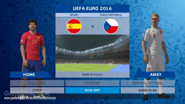 Pro Evolution Soccer UEFA Euro 2016 France Setup Free Download