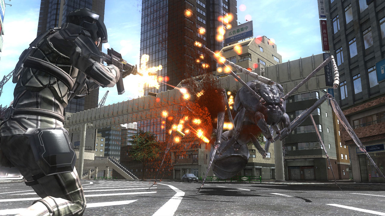 Earth Defense Force 4.1 The Shadow Of New Despair Download For Free
