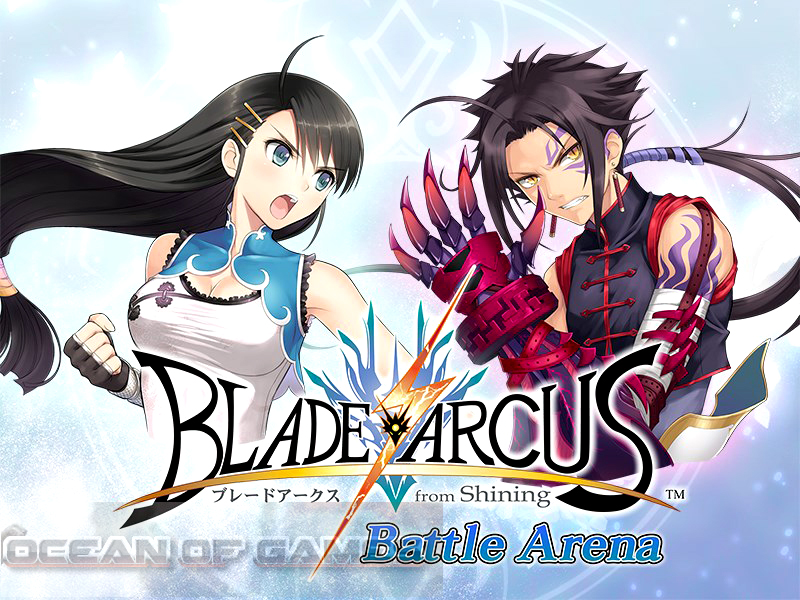 blade arcus from shining battle arena free download