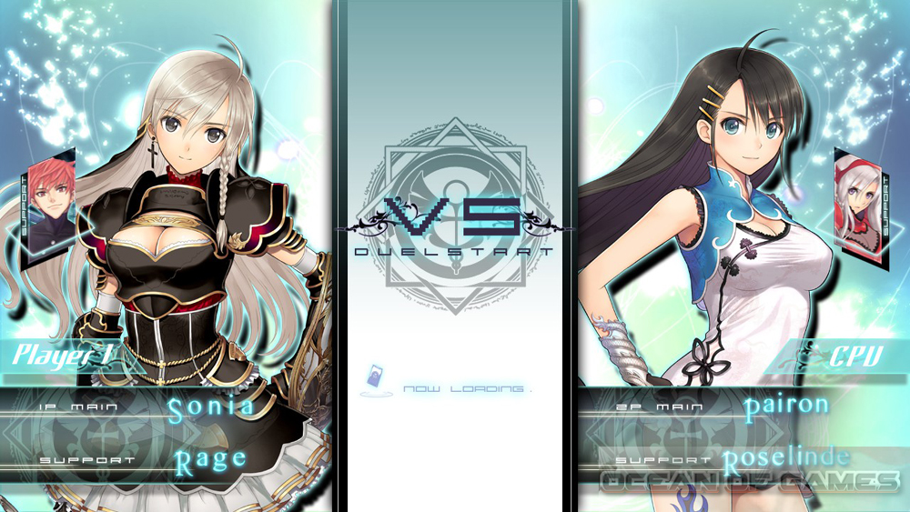 Blade Arcus from Shining Battle Arena Setup Free Download