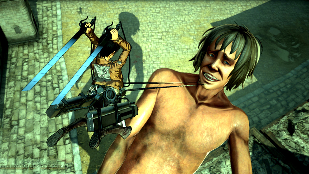Attack on Titan Wings of Freedom Features