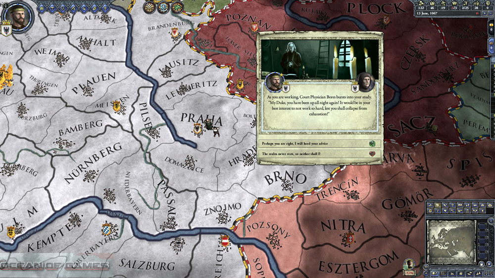 Crusader Kings II The Reapers Due Features