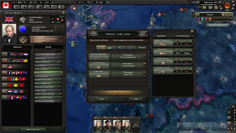Hearts of Iron IV Together for Victory Features