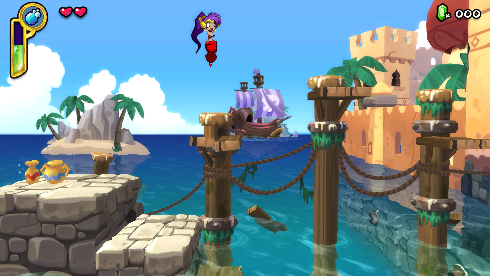 Shantae Half Genie Hero Features